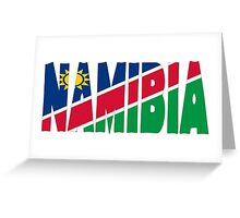 Namibia Greeting Card