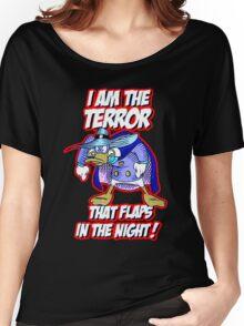 Darkwing Duck Night Terror Women's Relaxed Fit T-Shirt
