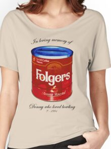 In Loving Memory of Donny Who Loved Bowling pop art variant 1 Women's Relaxed Fit T-Shirt