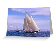 A Day On The Sound Greeting Card