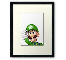 Poly Luigi Framed Print