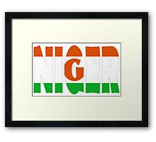 Niger Framed Print