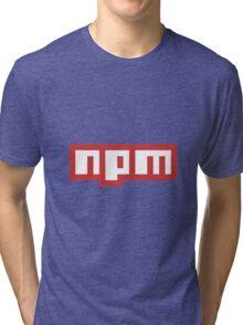 npm Tri-blend T-Shirt