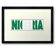 Nigeria Framed Print