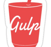 gulp logo Sticker