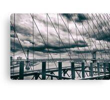 Brooklyn Bridge Views Canvas Print