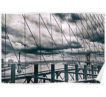 Brooklyn Bridge Views Poster
