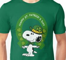 Snoopy Happy St Patricks Day Unisex T-Shirt