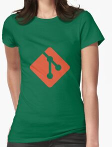 Git logo Womens Fitted T-Shirt