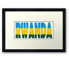 Rwanda Framed Print