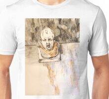 Crying Baby Bust Unisex T-Shirt