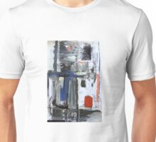 red blue white and black Unisex T-Shirt