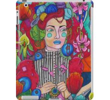 Crafting in the Garden iPad Case/Skin