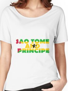 Sao Tome and Principe Women's Relaxed Fit T-Shirt