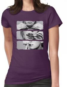Girls love blunts Womens Fitted T-Shirt