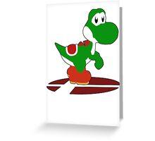 Yoshi - Super Smash Bros Melee Greeting Card
