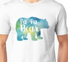 PAPA BEAR watercolor Unisex T-Shirt