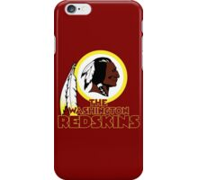 Washington Redskin iPhone Case/Skin