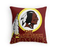 Washington Redskin Throw Pillow