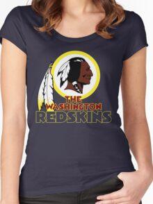 Washington Redskin Women's Fitted Scoop T-Shirt