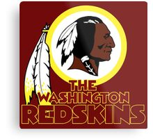 Washington Redskin Metal Print