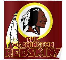 Washington Redskin Poster