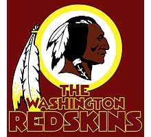Washington Redskin Photographic Print