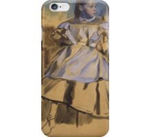 Edgar Degas - Giulia Bellelli (1858-1859) iPhone Case/Skin