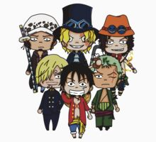 One piece chibi One Piece - Short Sleeve