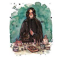 Severus Snape, potions master by susannesart