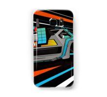 Delorean Time Flux - Orange Samsung Galaxy Case/Skin
