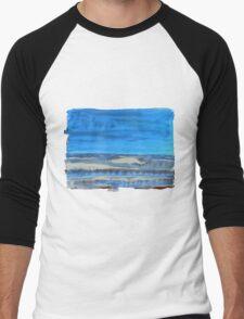 Peau de Mer • Sea's Skin • Piel de Mar Men's Baseball ¾ T-Shirt