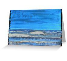 Peau de Mer • Sea's Skin • Piel de Mar Greeting Card