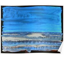 Peau de Mer • Sea's Skin • Piel de Mar Poster