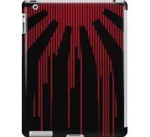 Black modern Japan Flag iPad Case/Skin