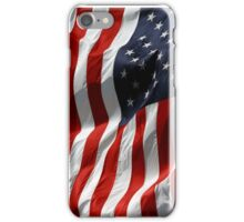 American Flag Super Citizen iPhone Case/Skin
