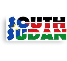 South Sudan Canvas Print