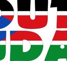 South Sudan Sticker