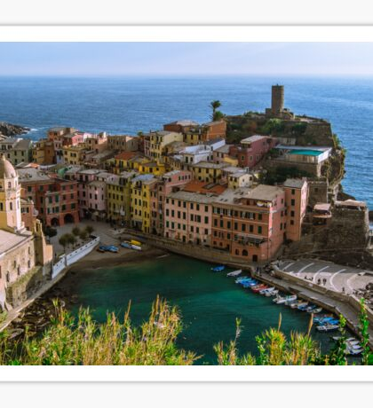 Beautiful Vernazza, Italy Sticker