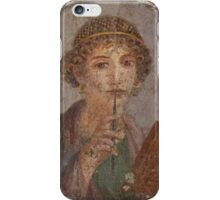 Souvenir from Pompeii - Saffo is thinking iPhone Case/Skin