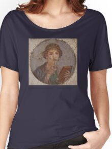 Souvenir from Pompeii - Saffo is thinking Women's Relaxed Fit T-Shirt