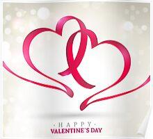 Happy Valentine's day Poster