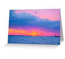 Pastel Skies Greeting Card