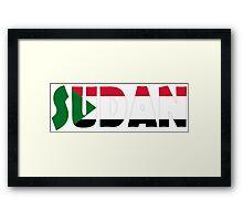 Sudan Framed Print