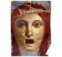 Souvenir from Pompeii - Theatre Mask Poster
