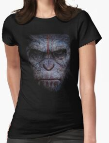 dawn of the planet of the apes Womens Fitted T-Shirt