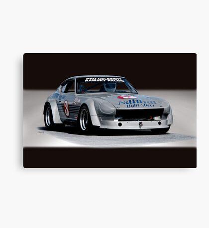 1973 Datsun 240Z GT Vintage Race Car Canvas Print