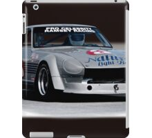 1973 Datsun 240Z GT Vintage Race Car iPad Case/Skin
