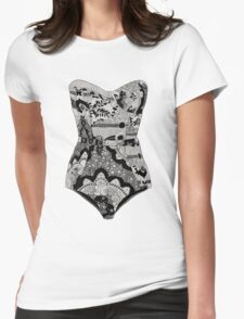Lingerie Womens Fitted T-Shirt