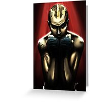 Never Back Down Greeting Card